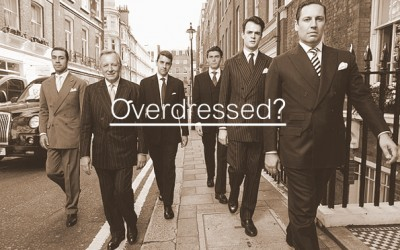 How To Overdress And Actually Own It