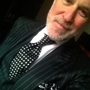 Chuck Pollard polka dots tie