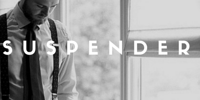 Wear Suspenders Now: Here's How!