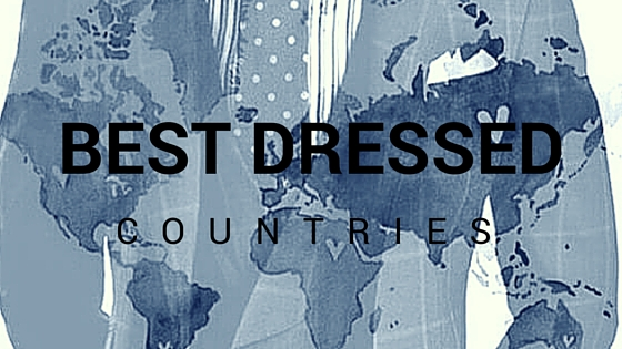 Top 10 Countries With The Best Dressed Men