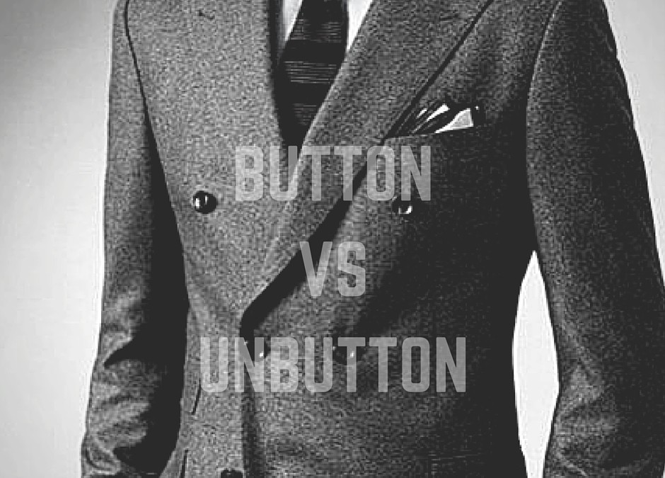 When To Button Or Unbutton A Suit Jacket