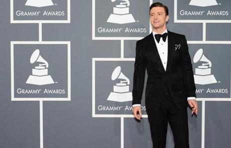 Justin Timberlake Grammy Awards