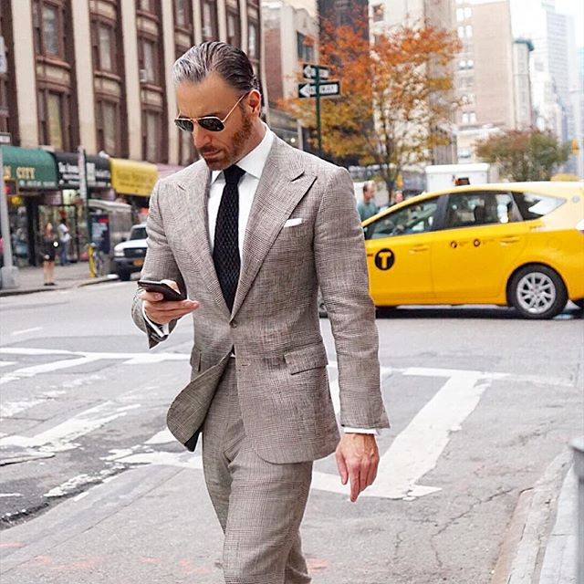 Christopher Korey Gray Two Piece Suit