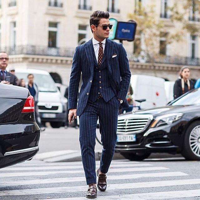 Frank Gallucci 3 piece suit