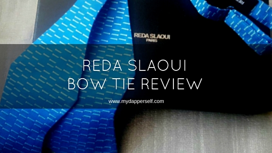 Reda Slaoui Bow Tie Review