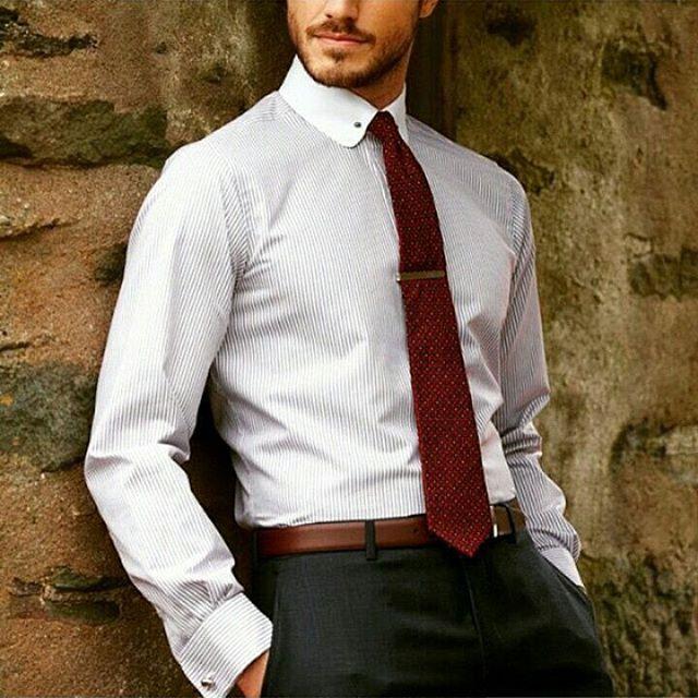 Belt with suit