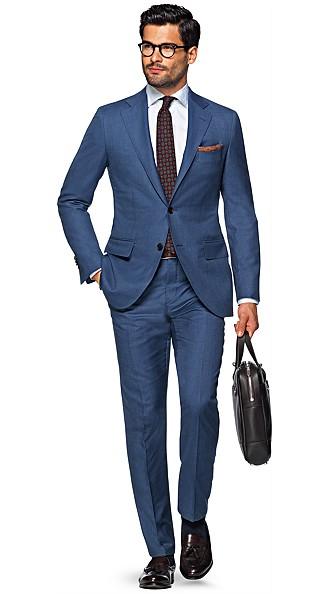 Blue Suit Suit Supply