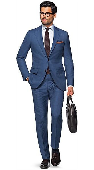 Blue Suit Suit Supply