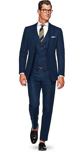 Navy Suit Suit Supply