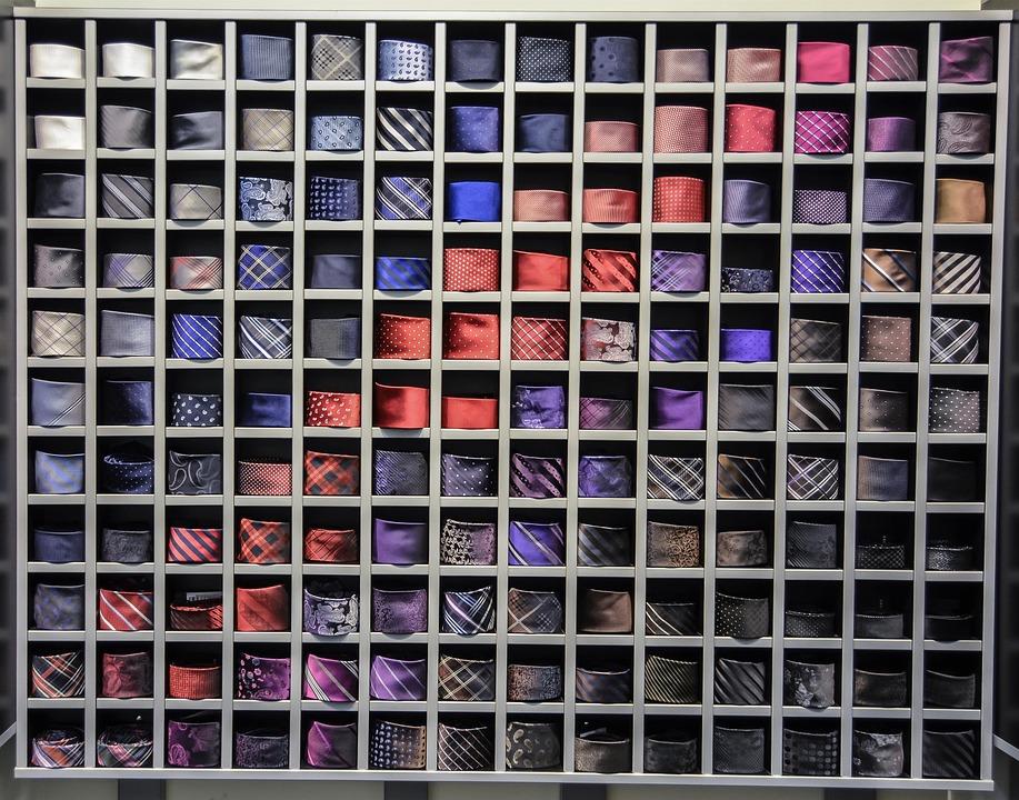 how to store your neckties