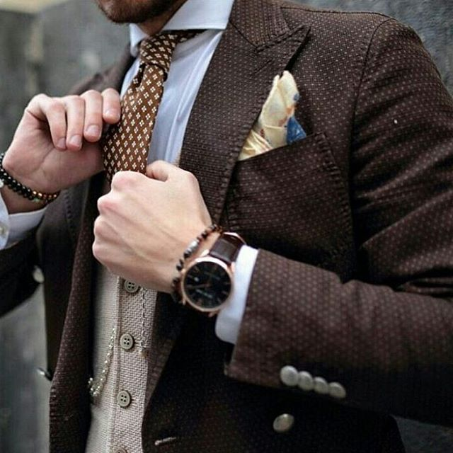 2016 Suit and Tie Trends Accessories