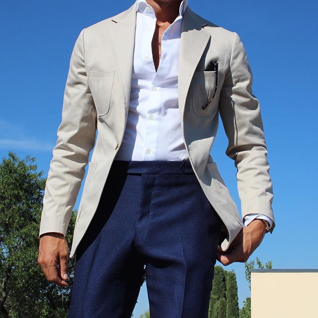 2016 Suit and Tie Trends High Rise Pants
