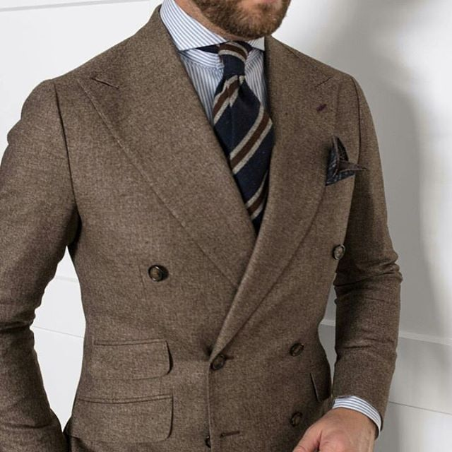 2016 Suit and Tie Trends Wide Lapels