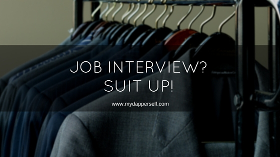 This One Reason Is Enough To Consider Wearing A Suit For A Job Interview