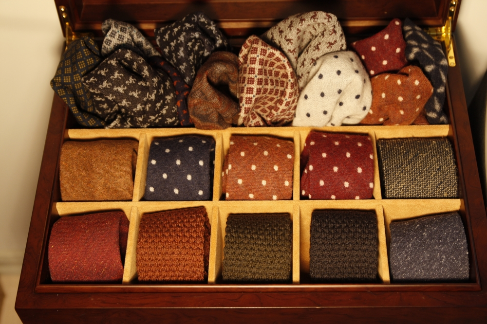Friday Tieday new ties