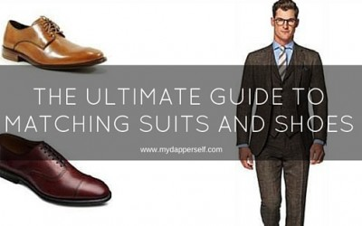 The Ultimate Guide To Matching Suits And Shoes