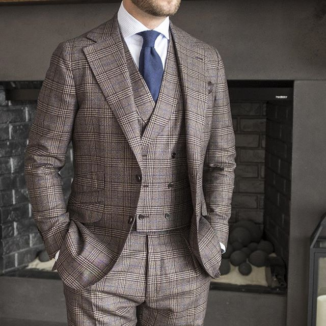 Jason Yeats three piece suit