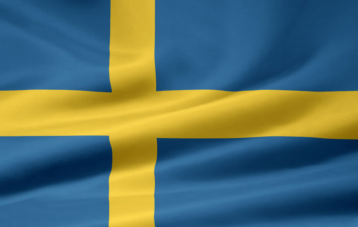 Swedish Flag Swedish Language