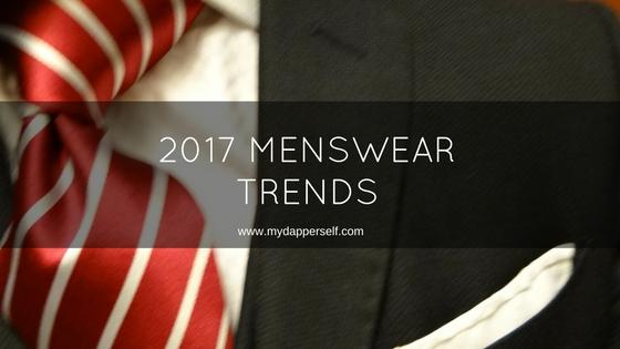 2017 Trends In Formal Menswear