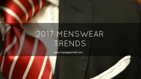 2017 Trends In Formal Menswear