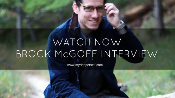 Watch Now (Or Listen To) My Live Interview With Brock McGoff!