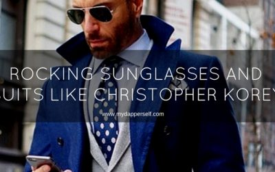 Rock Your Sunglasses With Your Suits Like Christopher Korey