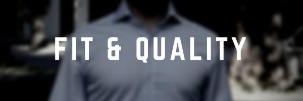 Custom Dress Shirt Fit and Quality