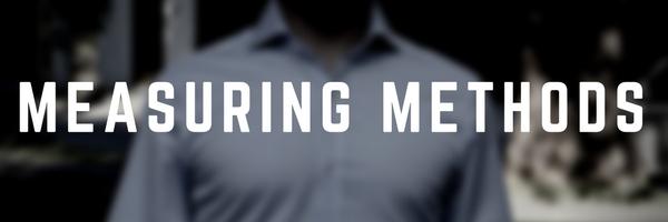 Custom Dress Shirt Measuring Methods