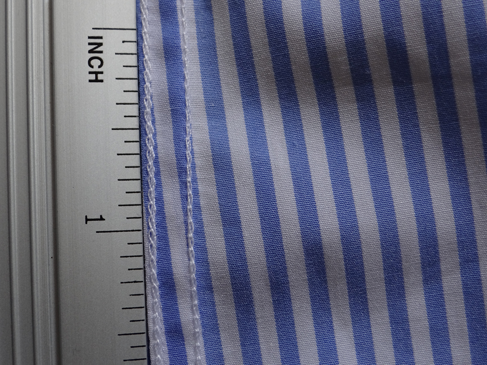 Stitch density