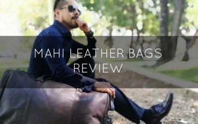 Dapper Leather Bags – MAHI Bags Review