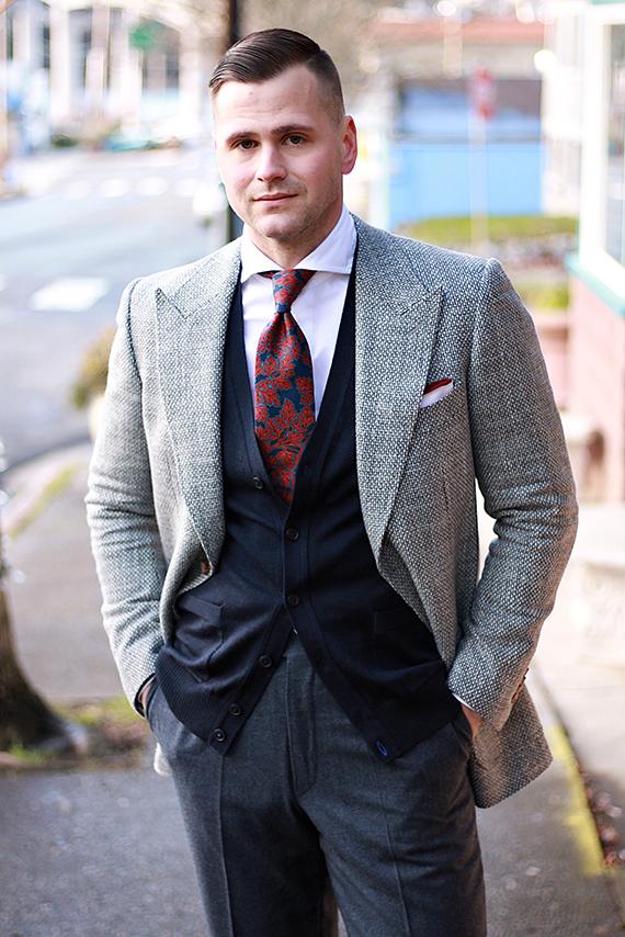Ollis Leander Grey Jacket