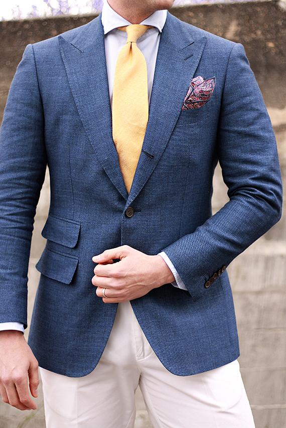 Ollis Leanders blue jacket
