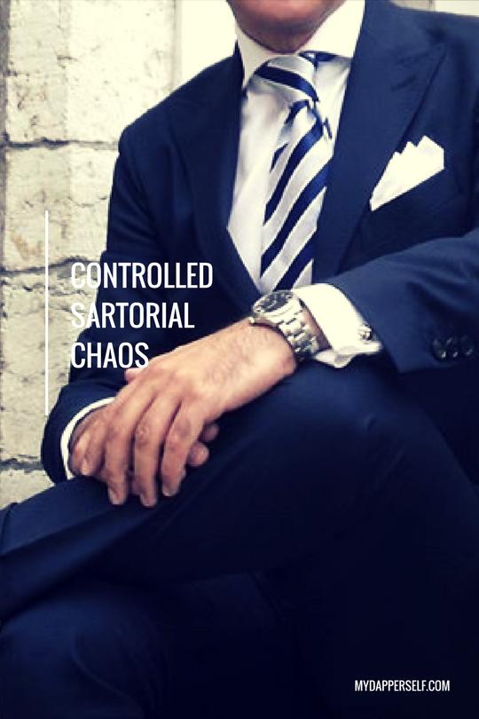 controlled sartorial chaos