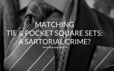 Matching Tie And Pocket Square Sets: The Horror (?)