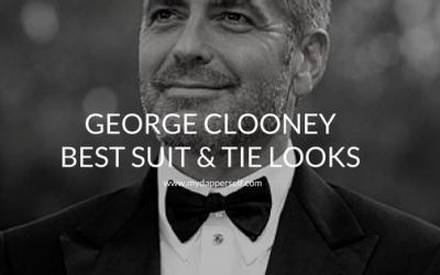 George Clooney's 8 Best Suit & Tie Moments