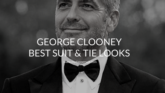 George Clooney's 8 Best Suit & Tie Moments