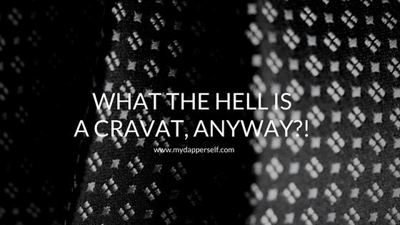What is a cravat?