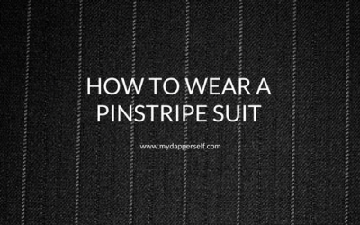 How To Wear Pinstripe Suits Just Like The Best (Straightforward Tips)