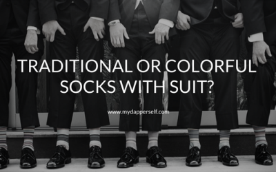 Should Your Suit Socks Be Classy And Elegant Or Bold And Fun?