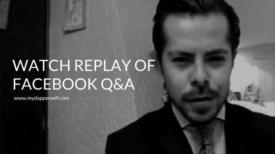 Facebook Live Q&A with Ed Ruiz