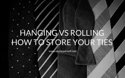 Hanging vs Rolling: How To Store Your Ties