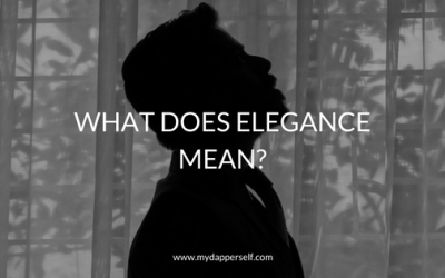 What Does Elegance Mean? I Asked You. Here's What You Responded.