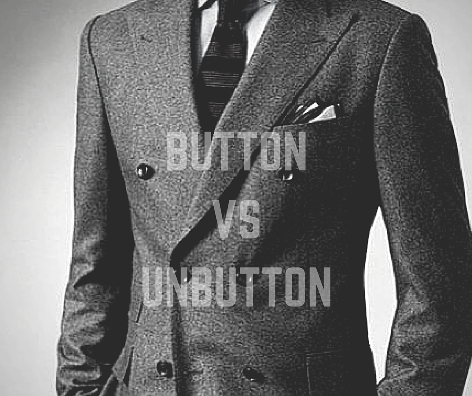 when to button or unbutton a suit jacket my dapper self