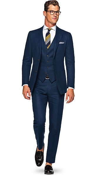 Navy Suit Suit Supply