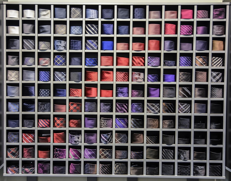 how to store your neckties