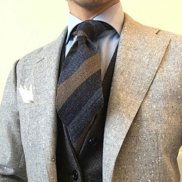 2016 Suit and Tie Trends Rough Textures
