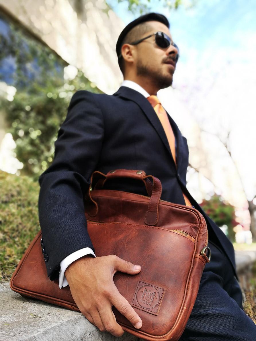 Dapper Leather Bags – MAHI Bags Review - My Dapper Self