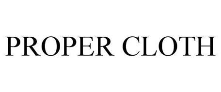 proper cloth logo