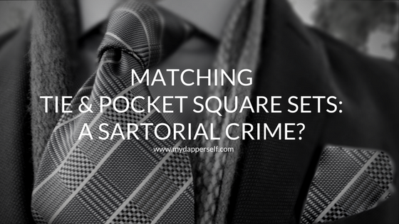 Matching Tie and Pocket Square Sets
