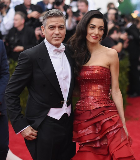 George Clooney in White Tie